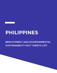 Employment and environmental sustainability in the Philippines