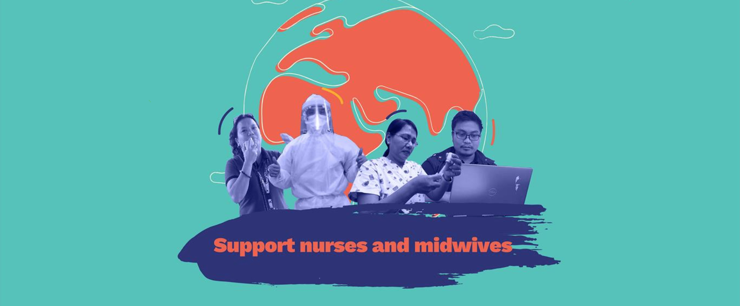 Celebrating nurses and midwives responding to the COVID-19 pandemic