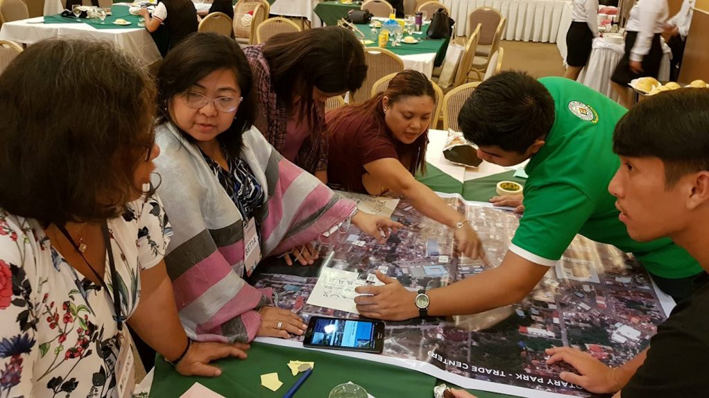 Participants to climate resilience training in Tagum City