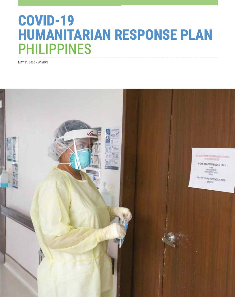 COVID-19 Humanitarian Response Plan Philippines