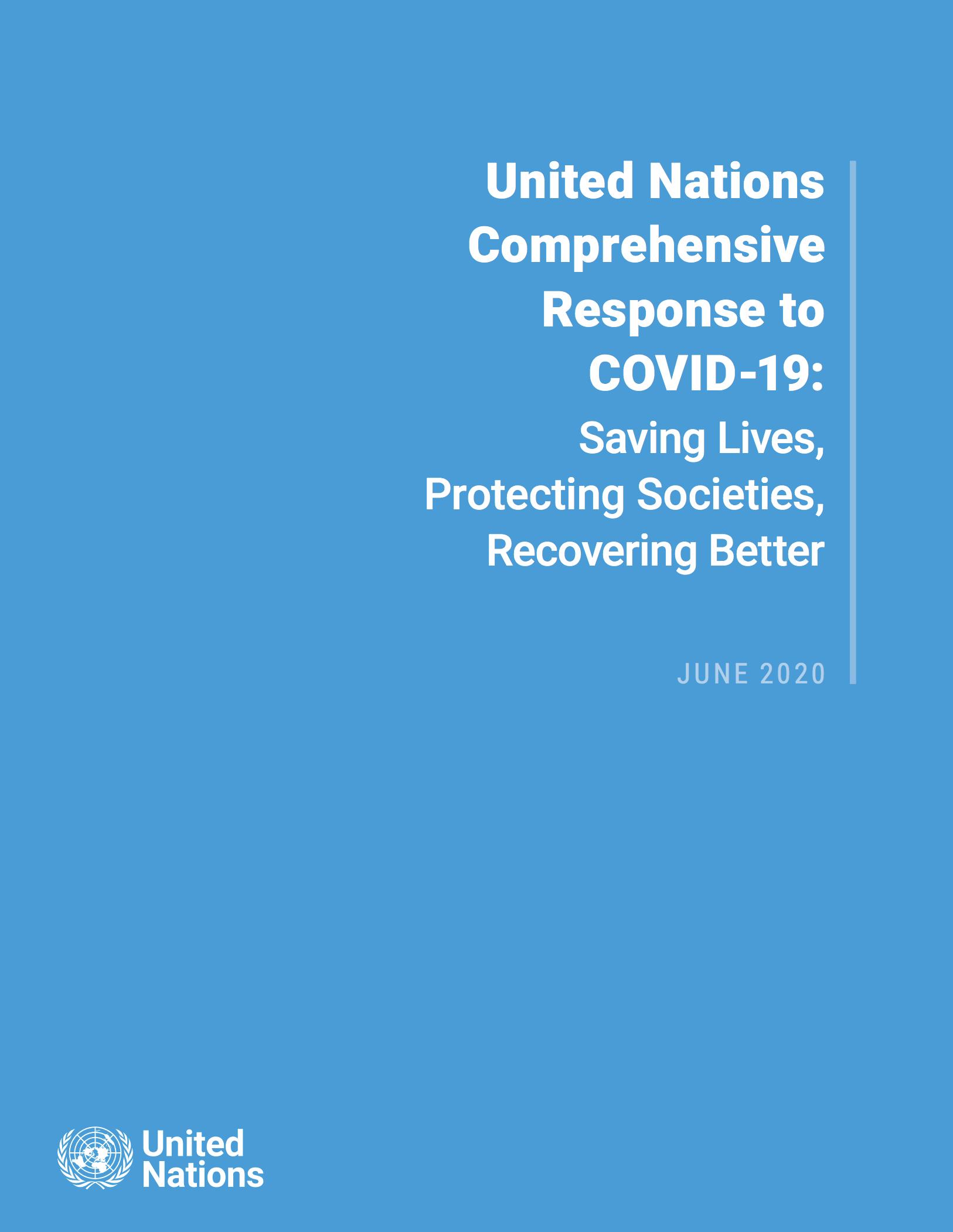 UN Comprehensive Response to COVID-19