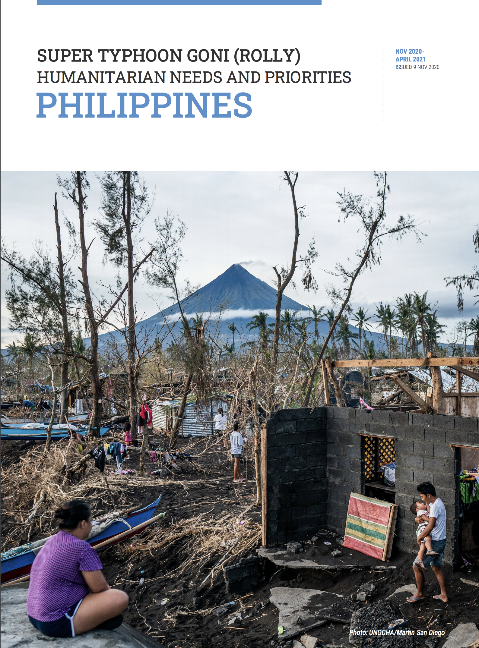 Cover of Humanitarian Needs and Priorities Plan