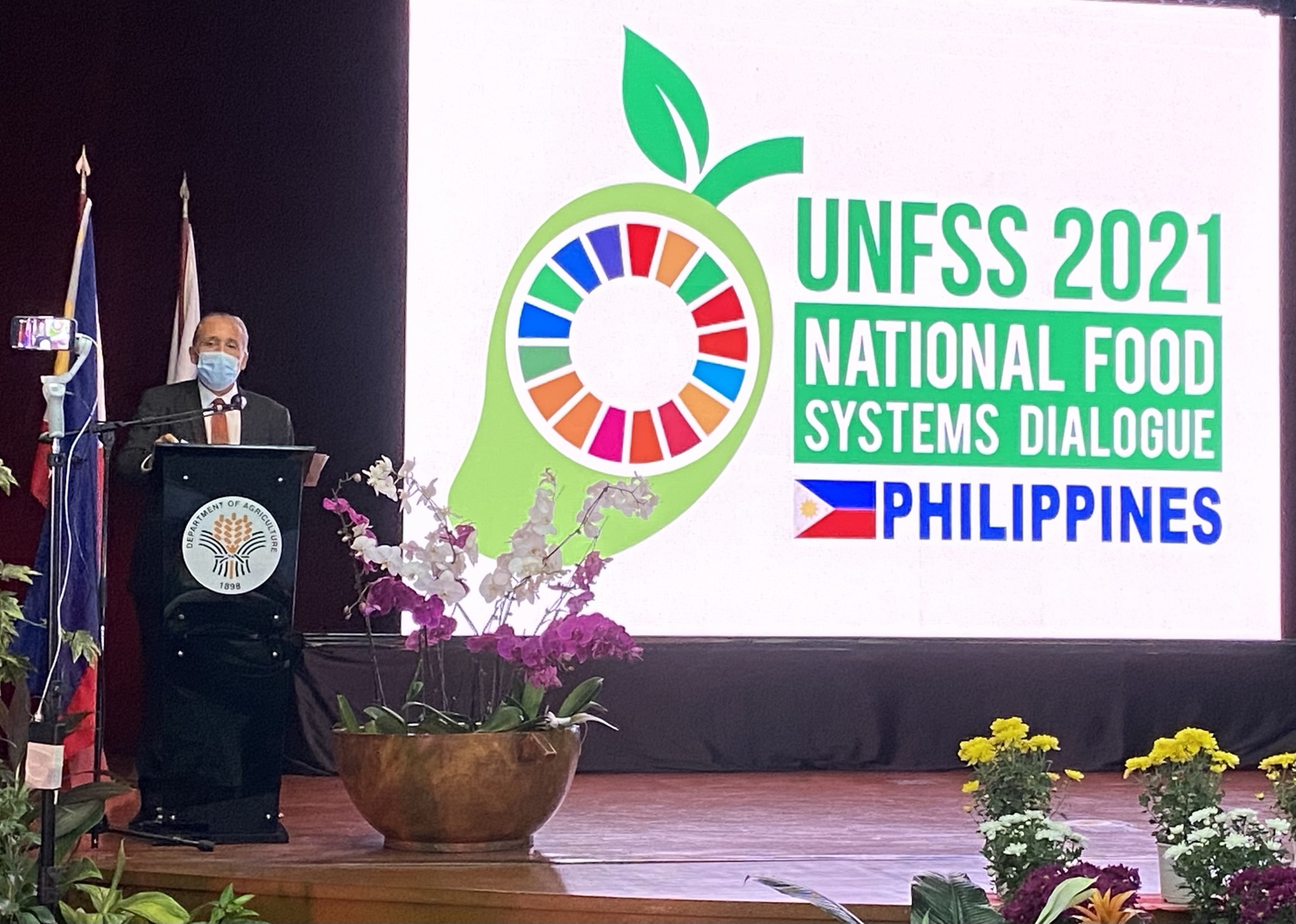 UNRC at the opening of National Food Systems Dialogue