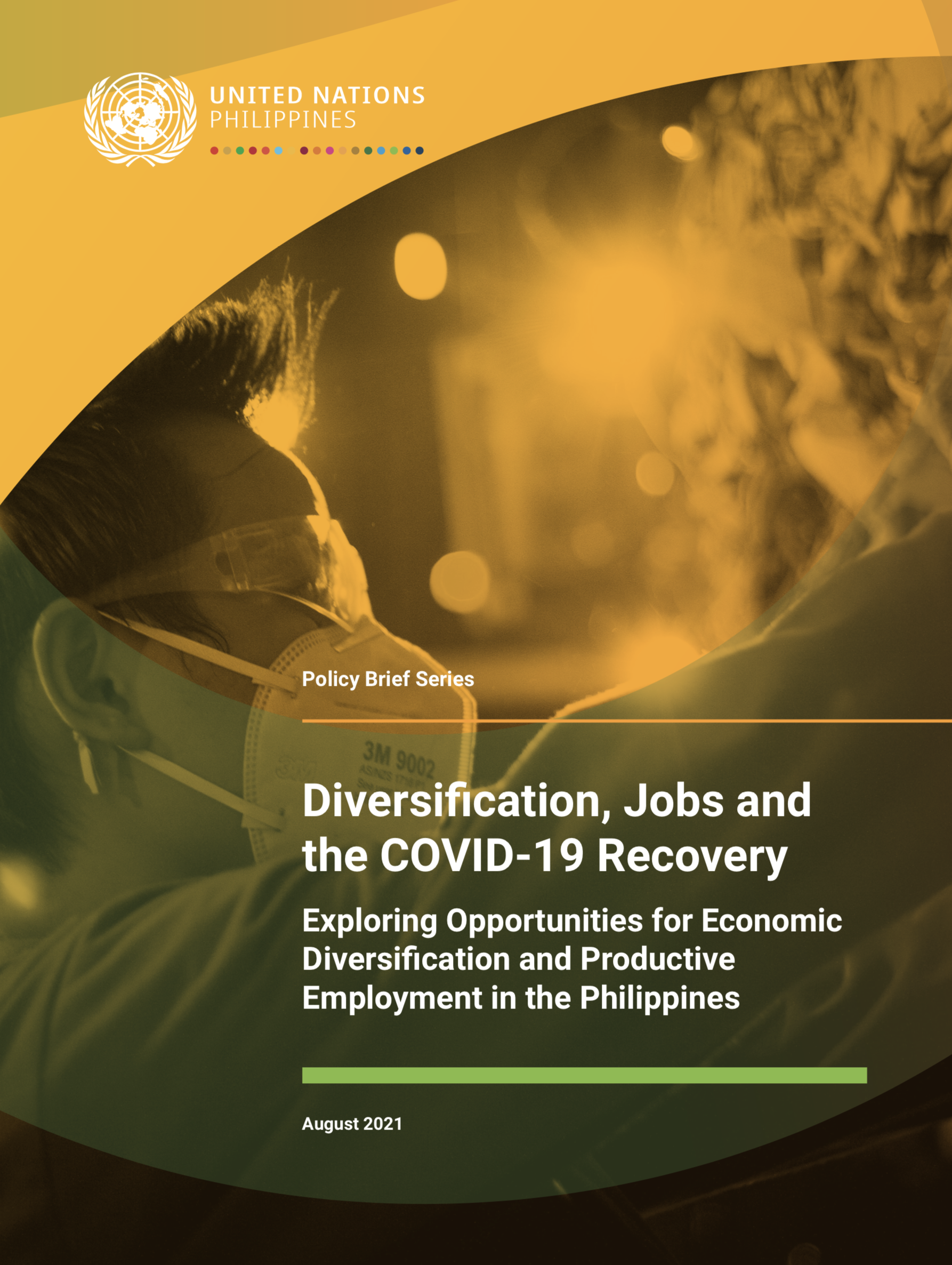Cover of Diversification, Jobs and the COVID-19 Recovery