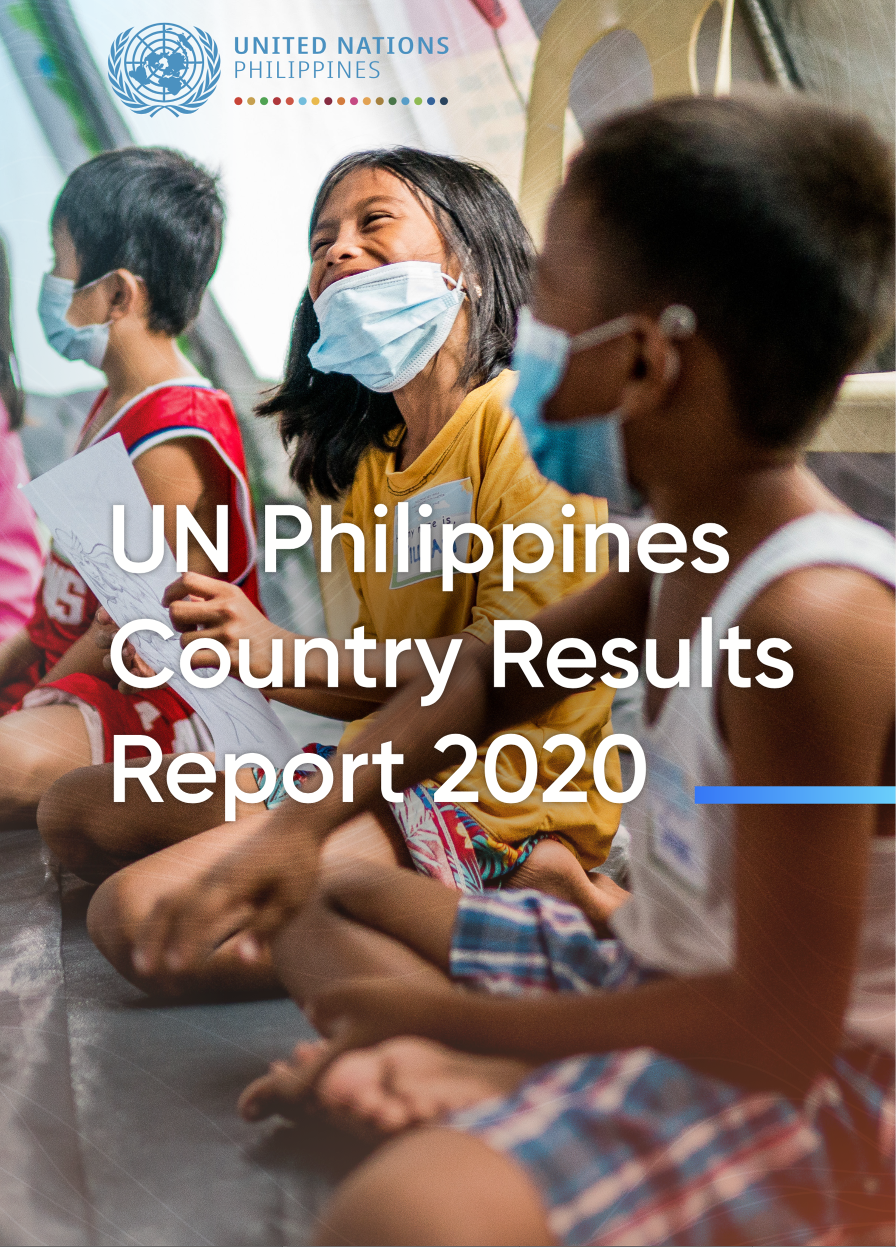 Cover of the UNCT Philippines Country Results Report 2020