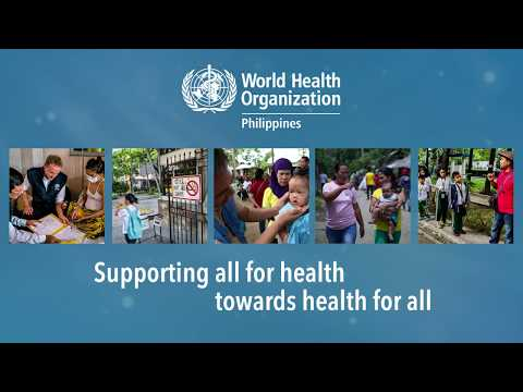 WHO Philippines: Supporting health for all