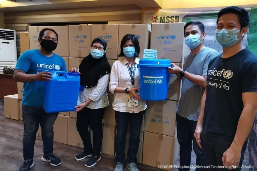 UNICEF delivers vital supplies for LSIs