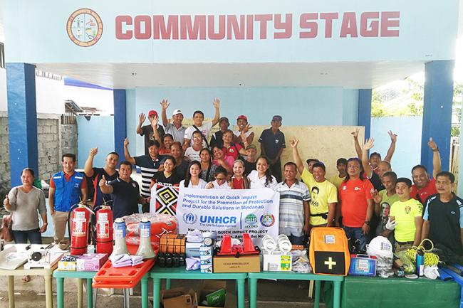 UNHCR helps the Poblacion Community to be disaster0resilient
