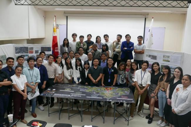 Participants to the Youth Urban Design Exchange
