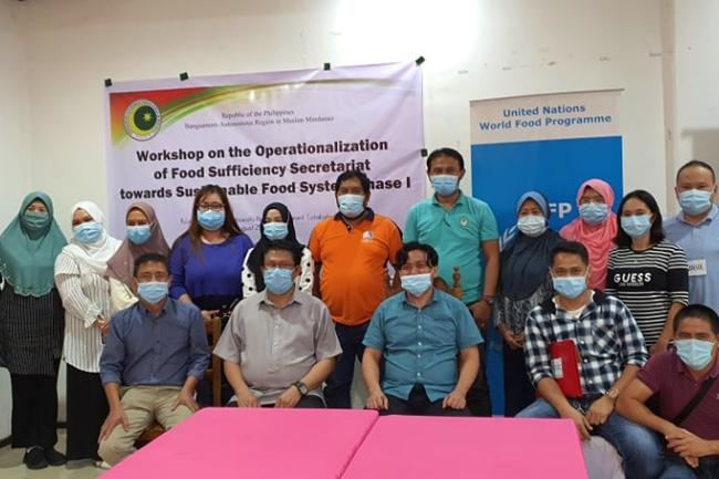 WFP and Bangsamoro in workshop to set up food self-sufficiency secretariat