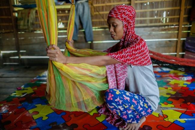 Hopeful mother in Maguindanao