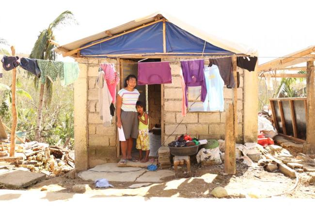 Caring for children affected by Super Typhoon Rolly/Goni