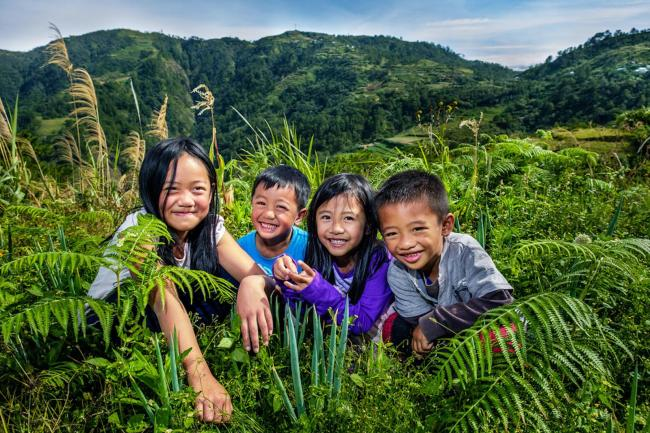 Children in Benguet