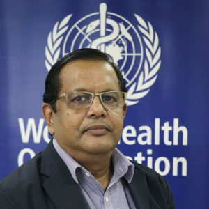 Dr. Rabindra Abeyasinghe, Acting WHO Representative